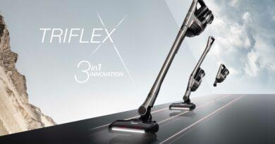 Díky svému unikátnímu designu spojuje vysavač Triflex HX1 tři bezdrátové vysavače v jednom