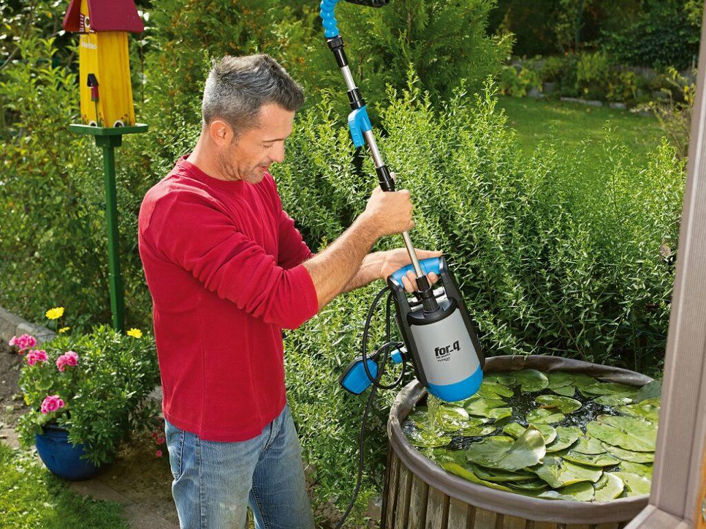 Pomocník pro odčerpávání dešťové vody Hornbach