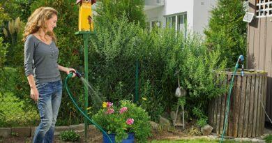 využití dešťové vody k zavlažování
