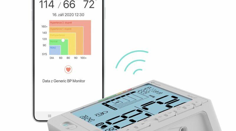 Měření krevního tlaku pohodlně doma i na cestách