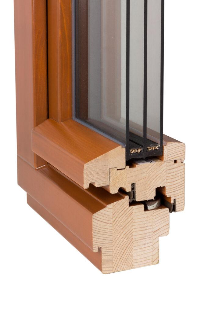 Profil dřevěného okna od PKS Okna