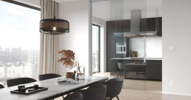 TRIX HEAVY celoskleněné dveře kuchyně od JAPFUTURE